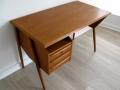 1960s Danish teak Tibergaard desk