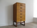 1960s teak tallboy/chest of drawers. IB Kofod Larsen for G Plan