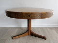 A 1960s rosewood 'drum' table by Robert Heritage for Archie Shine