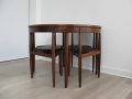 A 1960s teak dining suite by Hans Olsen for Frem Rojle