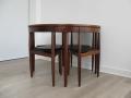 A 1960s teak dining suite by Hans Olsen for Frem Rojle