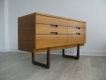 A 1960s chest of drawers by Uniflex