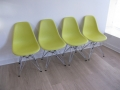 Set of 4 DSR side chairs. Chares & Ray Eames for Vitra