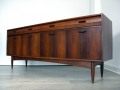 1960s teak and rosewood sideboard