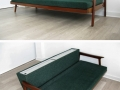1950s teak sofa/daybed