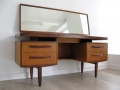 A teak 'fresco' dressing table by G Plan