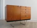 A 1950s teak sideboard by John & Sylvia Reid for Stag