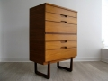 1960s Uniflex chest of drawers/tallboy