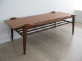 A 1960s Danish teak coffee table