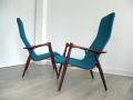 1960s teak chairs Asko Finland