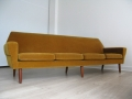 A large Danish sofa