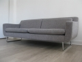 A grey 'aspen' sofa by Terence Conran