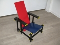 A Cassina 'red and blue' chair by Gerrit Rietveld