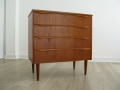 A 1960s Danish teak chest of drawers