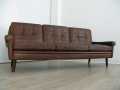 A Danish leather 3 seater sofa