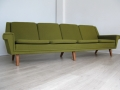 A large Folke Ohlsson Danish sofa