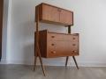 A rare 1960s Danish teak desk/cabine