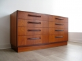 A 1970s teak G Plan 'Fresco' chest of drawers