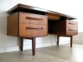 A 1970s G Plan 'Fresco' teak desk/dressing table