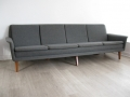 A large 4 seater sofa by Folke Ohlsson/Fritz Hansen