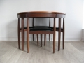 Dining table & 4 chairs. Hans Olsen/Frem Rojle