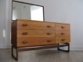 A 1960s teak chest of drawers/dresser by G Plan