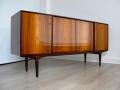Rosewood 'cortina' sideboard. Svante Skogh/Seffle Stockholm