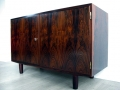 A 1960s 2 door rosewood sideboard by Poul Hundevad