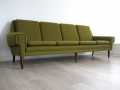 A large 4 seater Danish sofa
