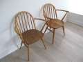 A pair of 1960s carvers by Lucian Ercolani for Ercol