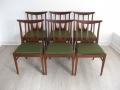 A set of 6 teak dining chairs by G Plan