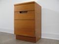 A 1960s bedside cabinet by Uniflex
