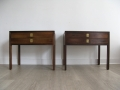 1970s rosewood bedside tables by Archie Shine for Heals