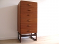 A teak tallboy chest of drawers by G Plan