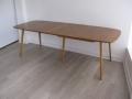 An extending 1960s table. Lucian Ercolani for Ercol