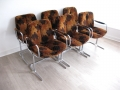 A set of 6 Pieff 'Eleganza' dining chairs