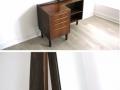 1960s Danish rosewood dressing table