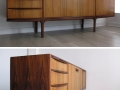 1970s rosewood sideboard by A.H. McIntosh & Co