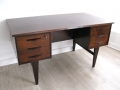 A 1960s Danish rosewood desk