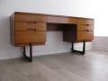 A 1960s desk/dressing table by Uniflex