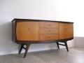 A 1960s retro teak sideboard