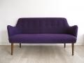 Danish 1960s purple sofa