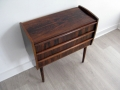 Rosewood Danish chest of drawers