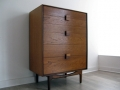 A 1960s teak chest of drawers by IB Kofod Larsen for G Plan