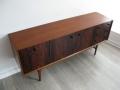 1960s rosewood and teak sideboard