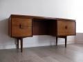 A 1960s teak desk by IB Kofod Larsen for G Plan