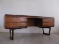 A 1960s Retro Teak Desk/Dressing Table