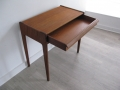 A 1960s teak desk by Younger