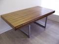 A large Danish Rosewood desk by Bodil Kjaer