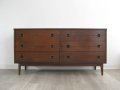 Large 1970s chest of drawers